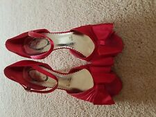 ladies Red debut shoes size 6