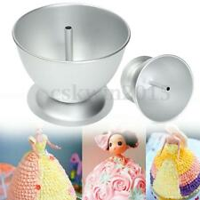 3D Tin Pan Cake Mould Making Princess Dress Doll Fondant Cakes Decoration Party