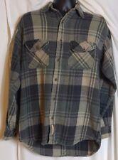 C.E. Schmidt Workwear Mens Cotton Multi color Plaid Shirt  Size Medium