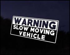 Advertencia de desplazamiento lento coche decal sticker Jdm vehículo Bicicleta parachoques Gráfico Funny
