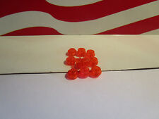 LEGO (10) TRANS ORANGE DOTS 1x1 ROUNDS, PLATES, STAR WARS, CITY YOU NAME IT