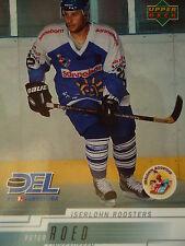 109 Peter Roed Iserlohn Roosters DEL 2000-01