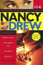 Without a Trace/A Race Against Time/False Notes/High Risk Nancy Drew: All New G