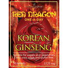 KOREAN RED GINSENG EXTRACT - RED DRAGON  - EXTRA STRONG  - SAPONINS - 3125mg