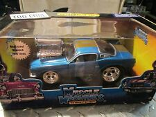 1966 SHELBY MUSTANG GT 350 TOO COOL BLOWER .1/24 muscle machine M2 SERIES NIB