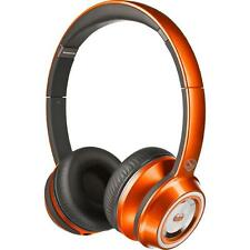 Monster Orange N-Tune In The Mix High Performance On Ear Headphones