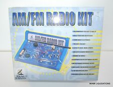 Make Your Own AM/FM Radio Kit Do It Yourself Kids Young Scientist Educational