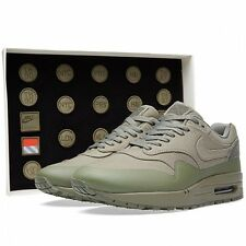 2015 Nike Air Max 1 V SP SZ 6.5 Steel Green Patches Pack Nikelab QS 704901-300