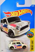 HOT WHEELS 2016 HW ART CARS MORRIS MINI #3/10 WHITE