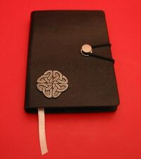 Celtic Knot Black A6 Travel Journal Notebook Celtic Themed Gift