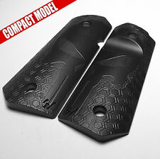 1911 Grips for Compact / Officers  Model  - Mirror HoneyComb Punisher Design