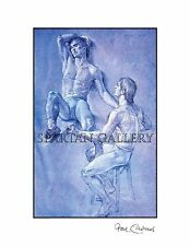 NUDE MALE ART NAKED MAN FRIENDS PRINT DANCER ENJOYING GAY INTEREST GIFT
