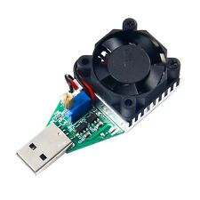 Adjustable USB Load Discharger Resistor Mobile Power Aging module 1A 2A 3A YG