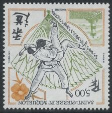 SAINT PIERRE ET MIQUELON N°498 ** Sport Judo TB, 1989 SPM  MNH