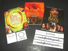 3 NEW Lord Of The Rings BOOKS 1 Creature Guide 2 Photo Guides 5 Temporary Tattoo