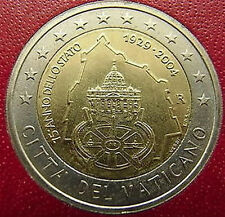 VATICAN 2 euro 2004 commemorative coin, unc in official  folder, mintage 100 000