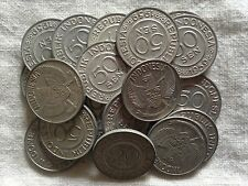 1959 INDONESIA COINS- Lot of 20- 50 SEN COINS +