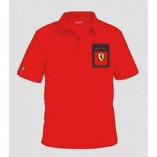 Ferrari Polo Pocket Scudetto size RED large