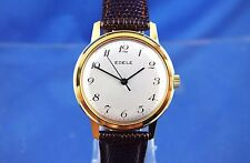 VINTAGE eleganti Gents Swiss MECCANICO WATCH 1960s NOS BRAND NEW OLD STOCK