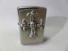 "Zippo ""GOTHIC CROSS"" - plaque-Neuf & Emballage D'origine - 357"