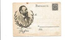 1931 Germany unused postal card  8pf