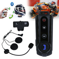 1000M Motorbike Motorcycle Bluetooth Helmet Intercom FM Headset Headphone Inter
