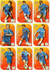1999 Futera Fans Collection Cutting Edge EMBOSSED Team Set Chelsea (9)
