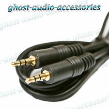 3.5mm jack to 3.5mm jack Gold with 1.5m Cable - Audio