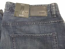 Nwt $145 Hugo Boss Delaware2 Slim Fit Stretch Premium Denim Men's Jeans 38x30