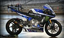 Kit Adesivi YAMAHA R1 - R1M MOTOAMERICA AMA GRAVES MONSTER 2015 SUPERBIKE