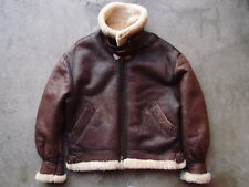 Vintage Flight Equipment New York USAF Type B-3 Shearling Flight Jacket Size L M