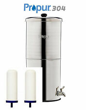"ProPur BIG 304 STAINLESS + 2 PROONE 7"" FILTERS SCRATCH & DENT SALE SAVE $94.75!"
