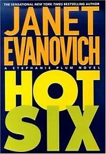 HOT SIX A STEPHANIE PLUM NOVEL BY JANET EVANOVICH- SOFT COVER-FREE SHIPPING