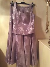 Purple skirt suits size 14 new with tags