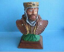 Buste du roi Richard 1/10 en resine Le buste est peint (peinture concours)