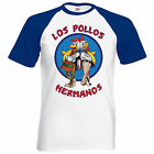 Los Pollos Hermanos Inspired Breaking Mens T Shirt Bad Heisenberg Walter Meth