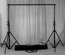 3x3m Photography Background Backdrop Light Stand Aluminum Support Studio Kit