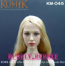 KUMIK Jessica Alba 1/6 Scale Head Sculpt For Hot Toy Phicen SHIP FROM USA