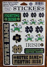 Set Notre Dame Fighting Irish Decal Stickers license College NCAA Football Craft