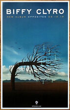 BIFFY CLYRO Opposites Ltd Ed Discontinued RARE Poster +FREE Indie/Punk Poster