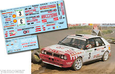Decal 1:43 Piero Liatti - LANCIA DELTA - Rally El Corte Ingles 1991