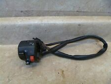 Kawasaki ZR7 ZR750 ZR 750 F Used Left Handlebar Switch 2000 KB61