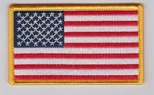 AMERICAN FLAG PATCH USA UNITED STATES FLAG PATCH IRON SEW ON FORWARD