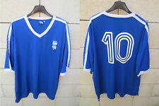 Maillot BIRMINGHAM City F.C n°10 rétro vintage football shirt Blues jersey XL