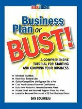Business Plan or BUST!: A Comprehensive Tutorial For Starting And Growing Your B