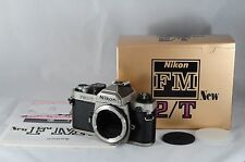 [MINT]Nikon New FM2/T Titan 35mm SLR Film Camera  Box From Japan