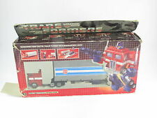 Transformers G1 Optimus Prime Boxed Original Takara Great Trailer