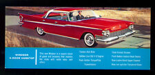 WINDSOR 4 DOOR HARDTOP THE LION-HEARTED CHRYSLER FOR '59 1959 POSTCARD