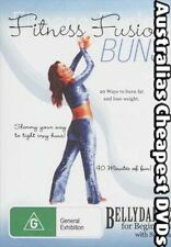 Fitness Fusion, Belly Dance  Buns DVD NEW, FREE POSTAGE IN AUSTRALIA  REGION  4