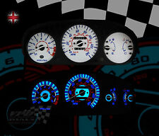 HONDA CIVIC EK manuale / EJ9-CRV Speedo PLASMA luminosi QUADRANTE BIANCO KIT (1996-2000)